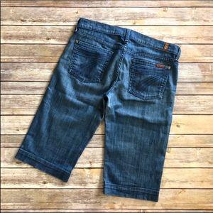7 for all mankind Dojo shorts Bermuda size 29